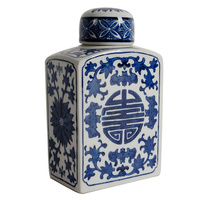 69662 Ming Luxe Ceramic Ginger Jar