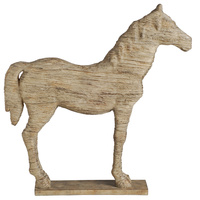 Standing  Horse Polyresin Statue