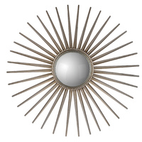 Convex framed Sun Mirror