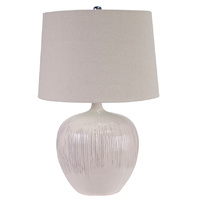Bronte Ceramic Table Lamp White