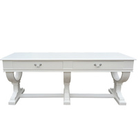 Curtis Large Console Table  Entrance Table White