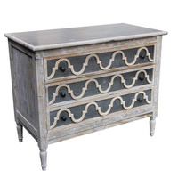 Trellis 3 Drawer Chest