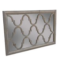Trellis Mirror Natural Pine
