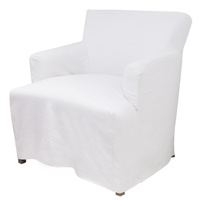 Nantucket White Arm chair