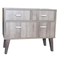 Retro Bedside Chest 43x80x68cmh