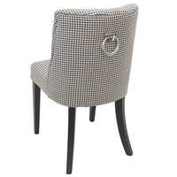 Ophelia Dining Chair Houndstooth (LAST ONE)